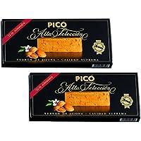 Picó - Pack incluye 2 Turron de Jijona - Turron blando caja negra - Calidad superior 200gr