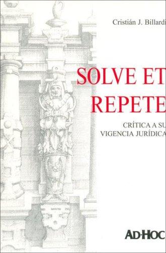 Solve Et Repete por C. J. Bilardi