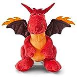 Nici 40772.0 Dragons Feuerdrache rot sitzend ca. 20cm, 20 cm