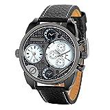 Montre Homme Avaner Montre Bracelet Grand Cadran Numérique Multifonctionnel -...