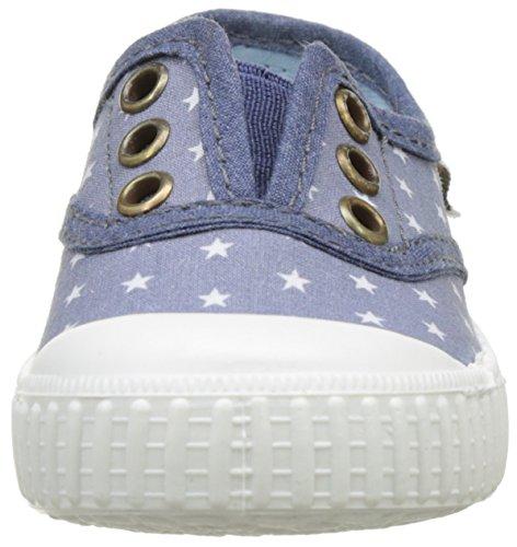 Victoria - Inglesa Estrellas Elast., Basse Bambina Blu (Azul)