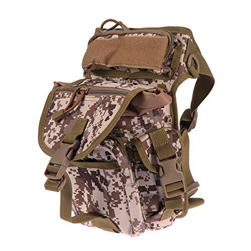 Tragbare Outdoor Wasserdichte Gürteltasche Multifunktionale Weiche Taktische Handtasche für Jagd Angeln Wandern -