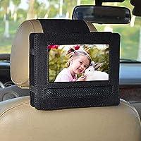 Car Headrest Mount, Car Headrest Mount Holder For APEMAN 7.5'' Portable DVD Player (Black)