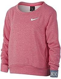 Nike G Nk Dry Po Studio, suéter para Niñas, Rosa (Pink Nebula/Htr/Ashen Slate/White 614), 140 (Talla del Fabricante: Medium)