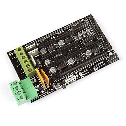 SainSmart RepRap Arduino Mega Pololu kompatibles Shield (RAMPS) 1.4 für 3D Drucker, Prusa Mendel (Hip Kit Replacement)