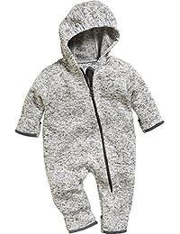 Playshoes Unisex Baby Strickfleece Overall Fleeceoverall