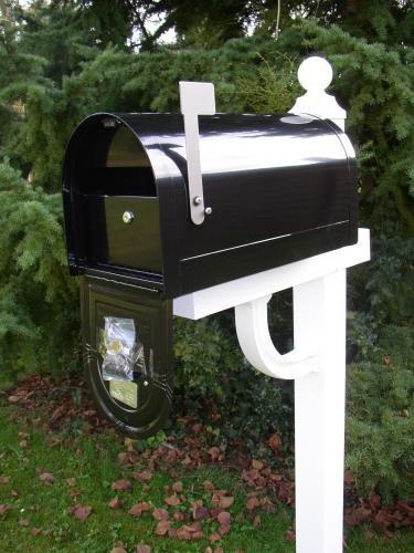 US-Mailbox Wyngate, abschließbar, Stahl, schwarz – US Mailbox - 3