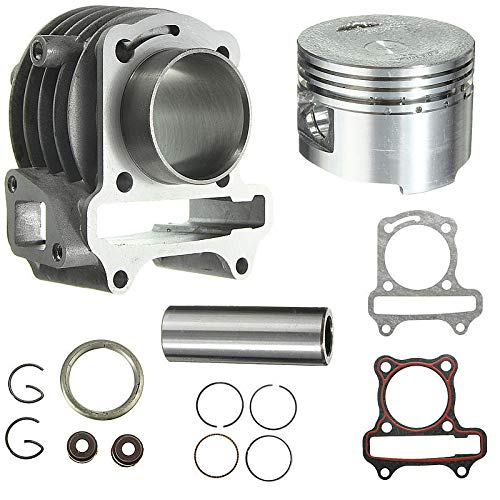 RENCALO GY6 50ccm bis 80ccm Big Bore Kit Zylinderringe 139 QMB 139QMB Roller Moped (Big Bore Kit Gy6)