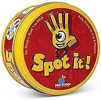 TourKing Divertidos Juegos de Tarjetas de la Marca Juego de Cartas del Partido Juguetes para niños-Spot it Game