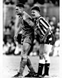 "Vinnie Jones grabbing Paul Gascoigne by his testicles Poster Size 11.7"" x 16.5""- 297mm x 420mm"