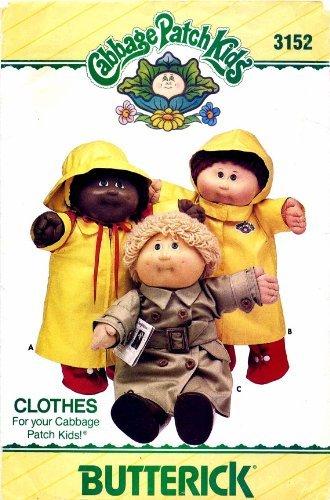 butterick-3152-cabbage-patch-kids-rain-wear-vintage-sewing-pattern-by-butterick