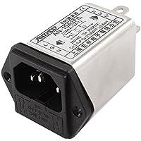 IEC C14 maschio presa di alimentazione Line con filtro EMI AC250V 10 A