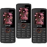 G'Five U229 Pack Of 3 Basic Feature Mobile Phones (BlackOrange)