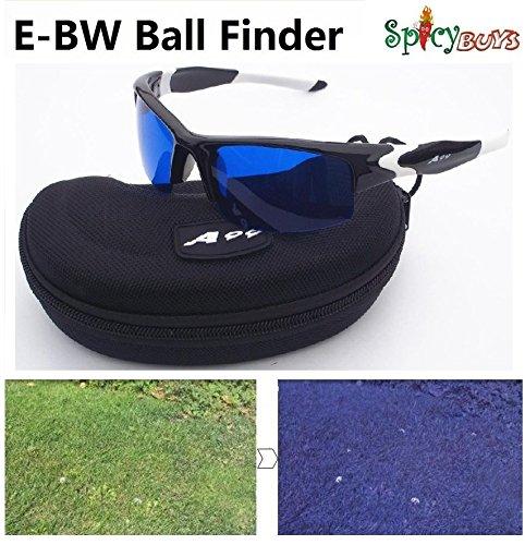 e-bw golfeur golf ball Finder Lunettes lentilles Cadre Noir/Blanc Cadeau idéal pour la fête des pères