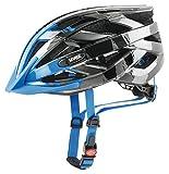 Uvex, I-Vo C, Casco per Bicicletta, da Uomo, Uomo, I-vo c, Dark Silver-Blue, 52-57
