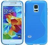 S-Line TPU SchutzHülle für Samsung Galaxy S5 Mini G800F Silikon Hülle in Blau @ Energmix
