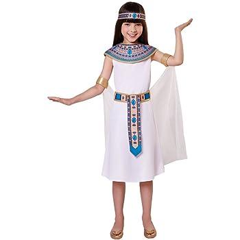 Girls Egyptian Queen Child Kids Dress Costume Cleopatra Book Week 3-9 Years