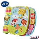 Vtech - 166705 - Jouet Musical - Do, Ré, Mi Super Livre Enchanté - Bleu