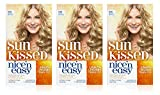 3x Clairol Nice N Easy Permanent Hair Dye Sun Kissed 9.5A LIGHT COOL BLONDE