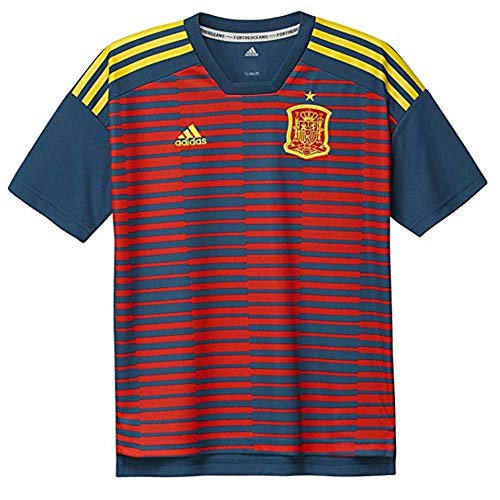 7dcf7ff10 Adidas Spain Pre-Match Youth T-Shirt 140 Crew Neck Short Sleeve - Camisas