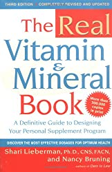 The Real Vitamin and Mineral Book (Avery Health Guides)