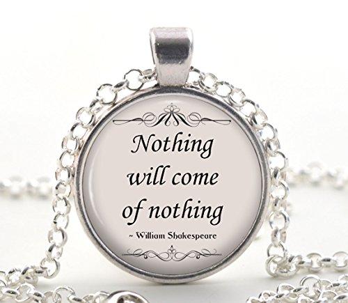 Zitat Halskette, Silber Inspirational Buch Liebhaber Poetry Zitat Anhänger, Einzigartige Poem Schmuck Geschenk Idee für sie ()