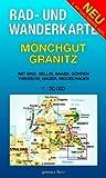 Rad- und Wanderkarte Mönchgut, Granitz: Mit Binz, Sellin, Baabe, Göhren, Gager, Middelhagen, Thiessow. Maßstab 1:30.000.