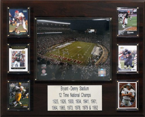 C & I Collectables NCAA Football Bryant-Denny Stadion Stadion Plaque -