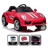 ATAA CARS Booster 6v - Rouge - Voiture électrique pour Enfants avec télécommande - Bon marché-