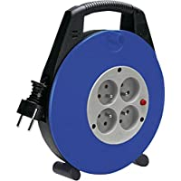 Brennenstuhl 1104464 Indoor/Outdoor 4AC outlet(s) 10m Black,Blue power extension - power extensions (Black, Blue, Black, 225 mm, 80 mm, 270 mm, 10 m) - Confronta prezzi