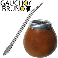Gourd and Bombilla Kit to drink Yerba (Tempo Tazza Di Corsa Tazza)