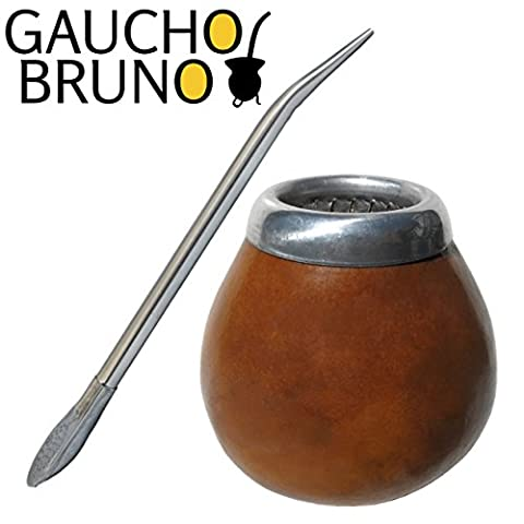 Gourd and Bombilla Kit to drink Yerba (Tempo Tazza Di Corsa Tazza)