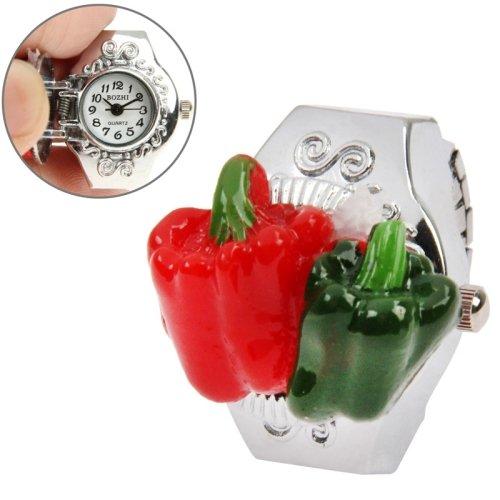 finger-ring-diseno-reloj-cuarzo-con-chili-style-carcasa-stretchy-band