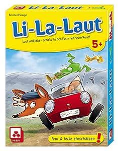 NSV - 4500 - LI-LA-LAUT - Juego de Cartas (versión en alemán)