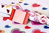 #7: UberLyfe Gift wrapping paper Sheets with 10 Gift tags - Set of 10 (12 inch x 18 inch) - GW-1437