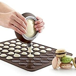 amazing-trading(TM) Silicone Macaron Pastry Oven Baking Mould Sheet Mat DIY Mold 30 cavity by amazing-trading