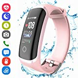 Fitness Tracker HR, Activity Tracker Sports Watch Smart Wristband with Pedometer Heart Rate