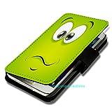 NONAME Book Style Handy Tasche - Design F100 - für HTC Desire 310 - Cover Case Schutz Hülle Etui Schutzhülle -