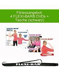 4 FLEXI-BAR DVDs + Flexi-Bag(negro)