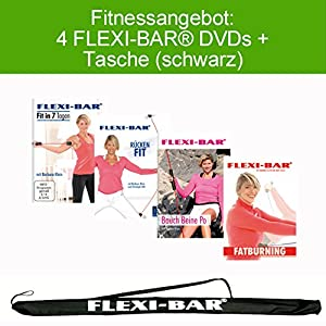 FLEXI-BAR 4 DVDs + Flexi-Bag (schwarz)