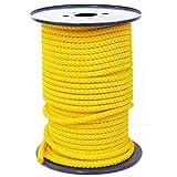 FTM® Springseil Tau Seil PP Gelb Meterware Rollenware Ø 9mm Fitnessseil 70m
