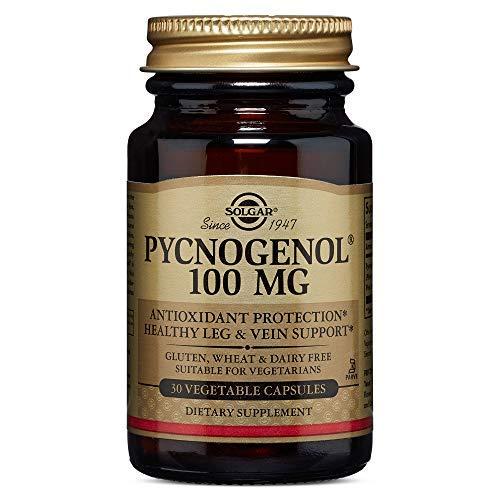 Solgar Pycnogenol Cápsulas vegetales de 100 mg - Envase de 30