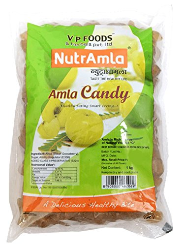 Amla Sweet 1Kg Whole Fruit with Max Goodness of Fresh amla