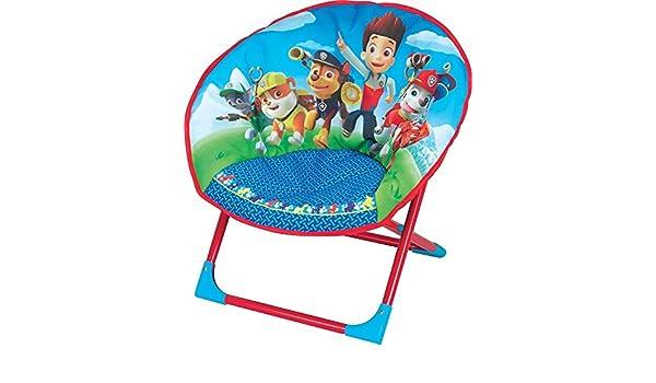 Fun House 712501/Pat Patrol Childrens Moon Folding Chair Blue 54/x 45/x 47/cm