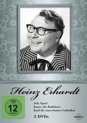 Heinz Erhardt - Ach, Egon! / Immer die Radfahrer / Kauf Dir einen bunten Luftballon [3 DVDs]
