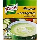 Knorr Soupe Douceur de Courgettes au Chèvre Frais 30 cl - Lot de 12