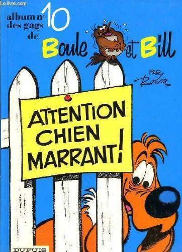 Boule & Bill, Tome 10 : Attention chien marrant !