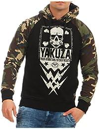 Yakuza Hombres Ropa superior / Sudadera Skull Two Face