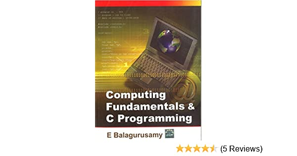 C Programming Book By Balaguruswamy Pdf