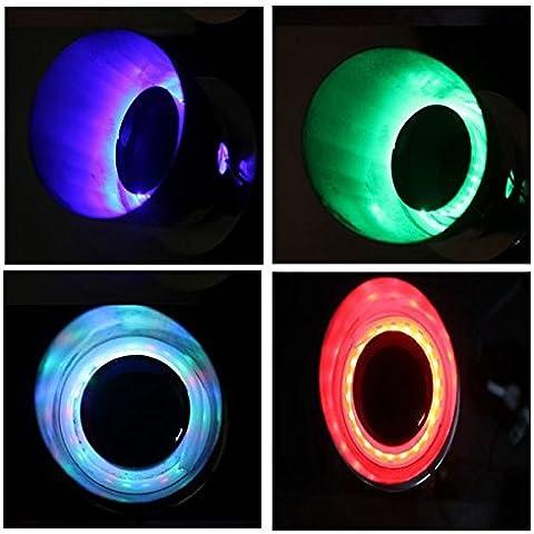 Pink Lizard Dc 12v tubo di moto di scarico modificato riscaldata LED Lampada luce